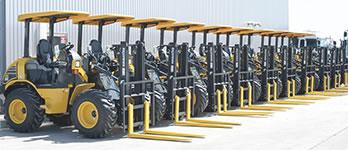 建設・環境機械のレンタル・リース事業