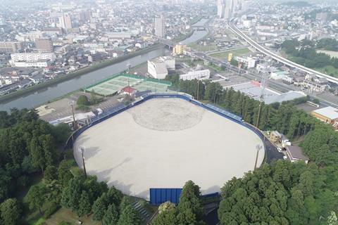 宮城県 多賀城公園野球場原状復旧(その2)工事