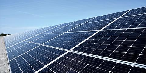 太陽光発電所の設置