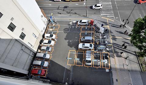 貸与地(バラカ駐車場)